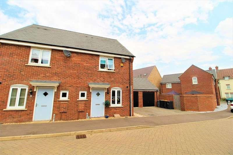 2 Bedrooms Semi Detached House for sale in Little Owl Lane, Wixams, MK42