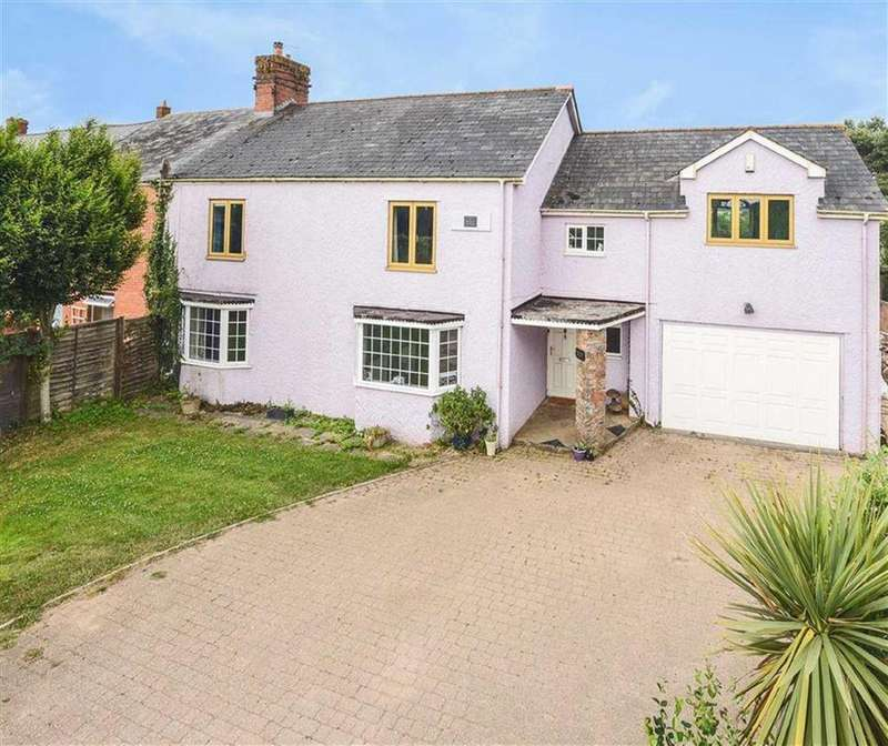 5 Bedrooms Semi Detached House for sale in Redball Cottages, Burlescombe, Tiverton, Devon, EX16