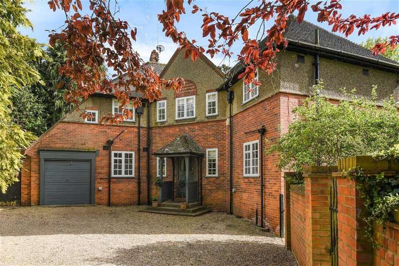 5 Bedrooms Detached House for sale in Upper Warren Avenue, Caversham Heights, Reading