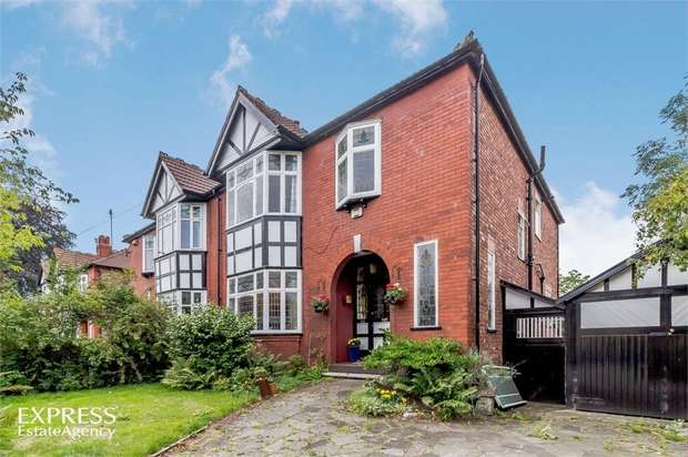 4 Bedrooms Semi Detached House for sale in Edge Lane, Manchester