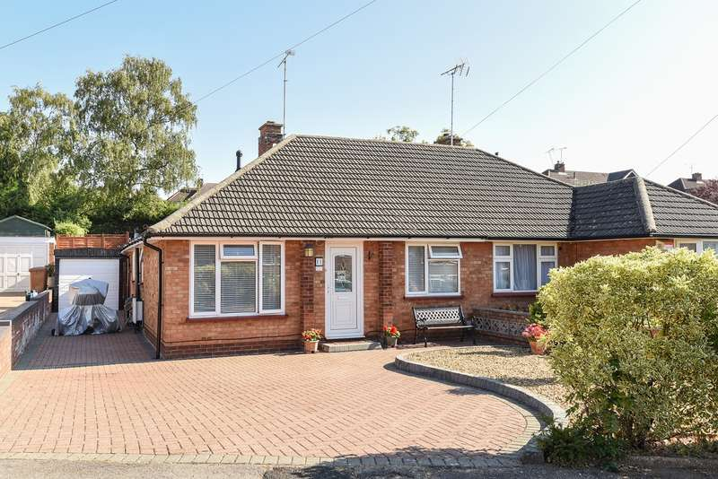 2 Bedrooms Semi Detached Bungalow for sale in Manton Road, Hitchin, SG4