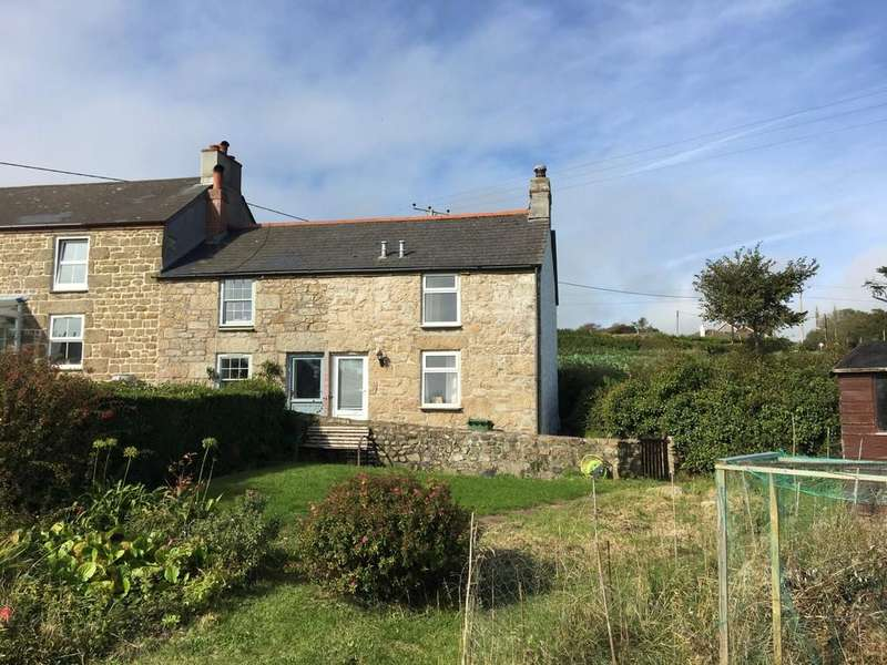 1 Bedroom End Of Terrace House for sale in Higher Eglos Cottages, Ludgvan, Penzance