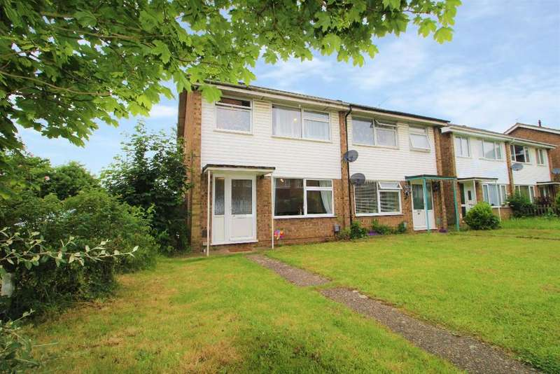 3 Bedrooms Semi Detached House for sale in Cherry Walk, Kempston, Beds, MK42