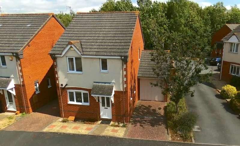 3 Bedrooms Link Detached House for sale in Hoskyns Avenue, Harley Warren, Worcester, WR4