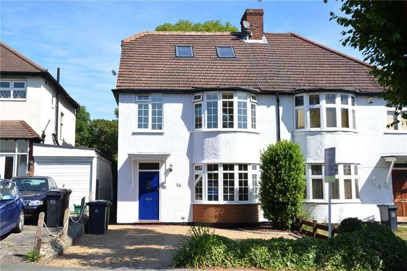 4 Bedrooms Semi Detached House for sale in Le May Avenue, Grove Park, London, SE12