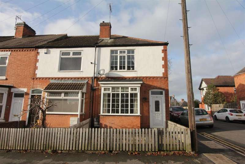 2 Bedrooms End Of Terrace House for sale in Cleveland Road, Hinckley