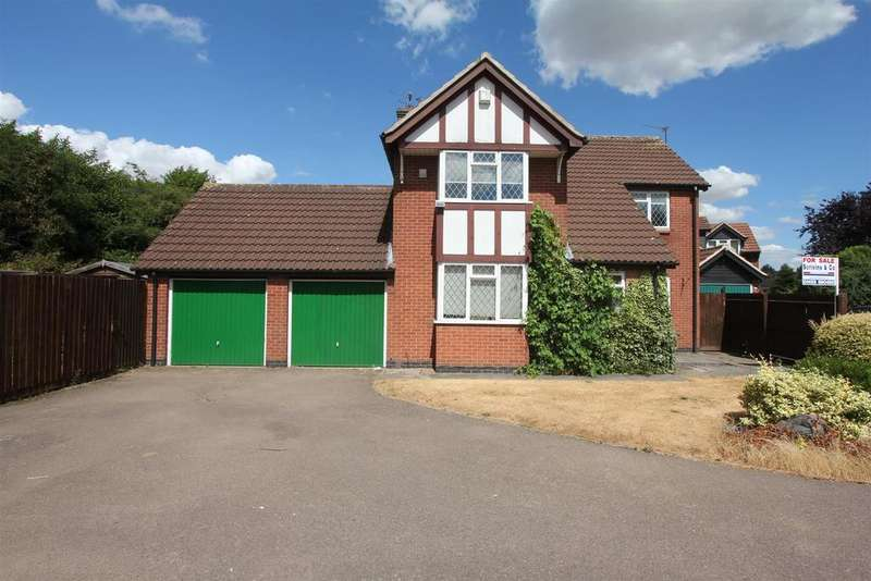4 Bedrooms Detached House for sale in Odstone Drive, Hinckley