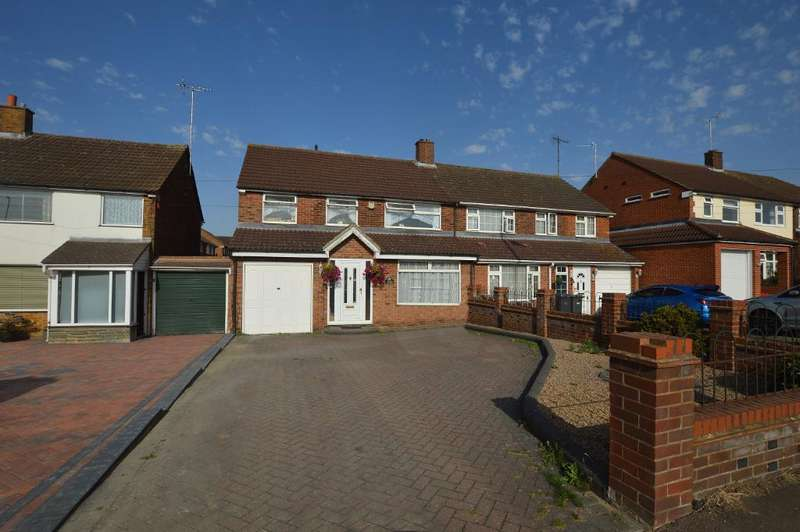 5 Bedrooms Semi Detached House for sale in Sundon Park Road, Luton, Beds, LU3 3AR