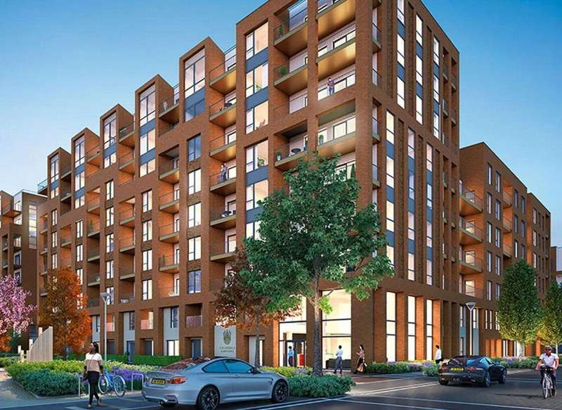 1 Bedroom Apartment Flat for sale in Queenscroft House, Colindale Gardens, London, NW9