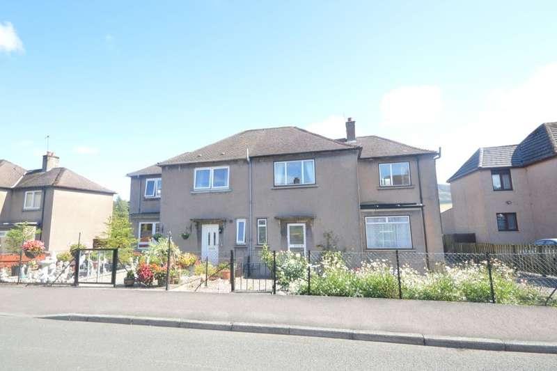 3 Bedrooms Semi Detached House for sale in Bower Park, Gateside, CUPAR, KY14