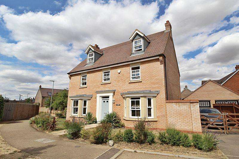 5 Bedrooms Detached House for sale in Salcombe Close, Biggleswade