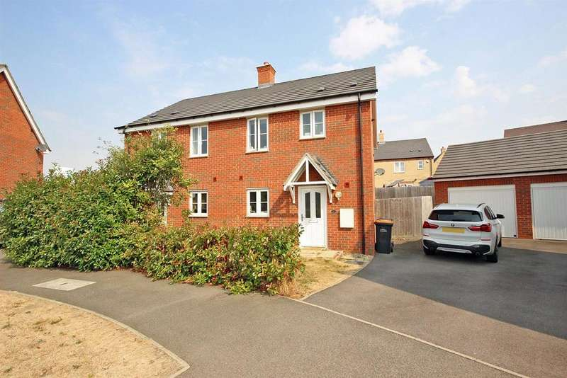 3 Bedrooms Semi Detached House for sale in Fiona Way, Bedford