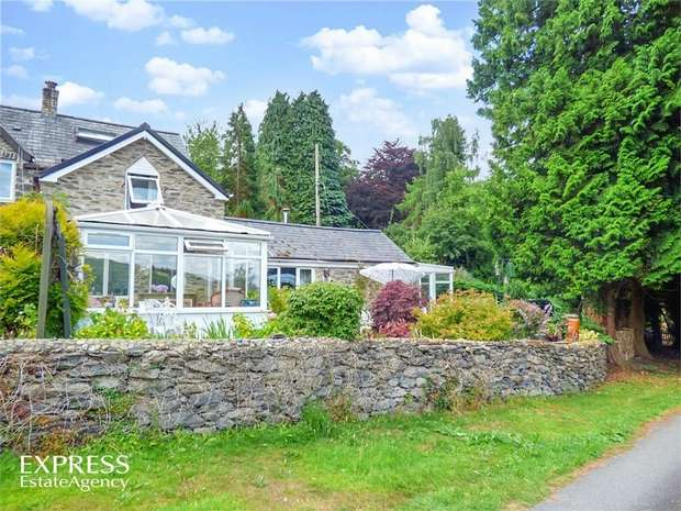 3 Bedrooms End Of Terrace House for sale in Llanycil, Bala, Gwynedd