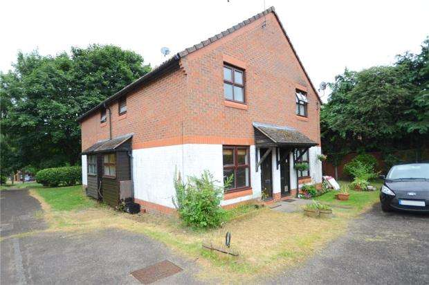 1 Bedroom Terraced House for sale in Nutmeg Close, Earley, Reading