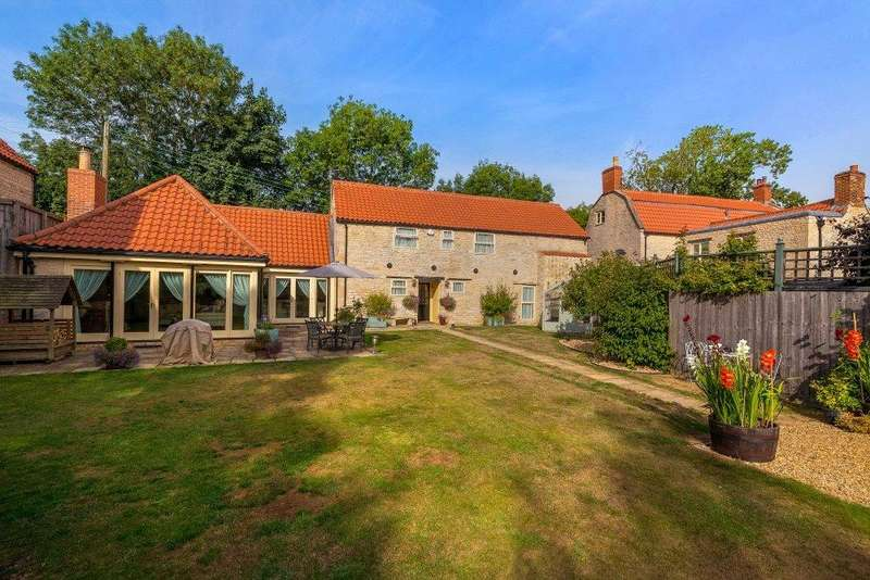 4 Bedrooms Barn Conversion Character Property for sale in Church Lane, Pickworth, Sleaford, NG34