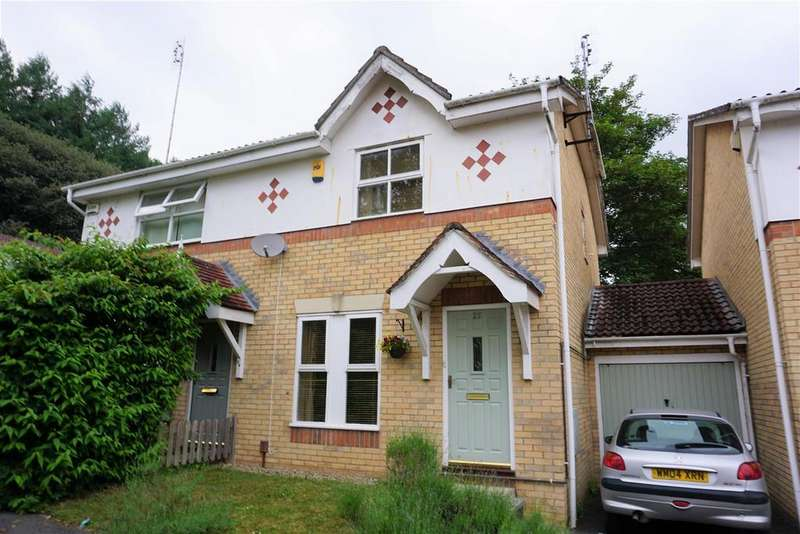 3 Bedrooms Semi Detached House for sale in Evans Close, St. Annes Park, Bristol