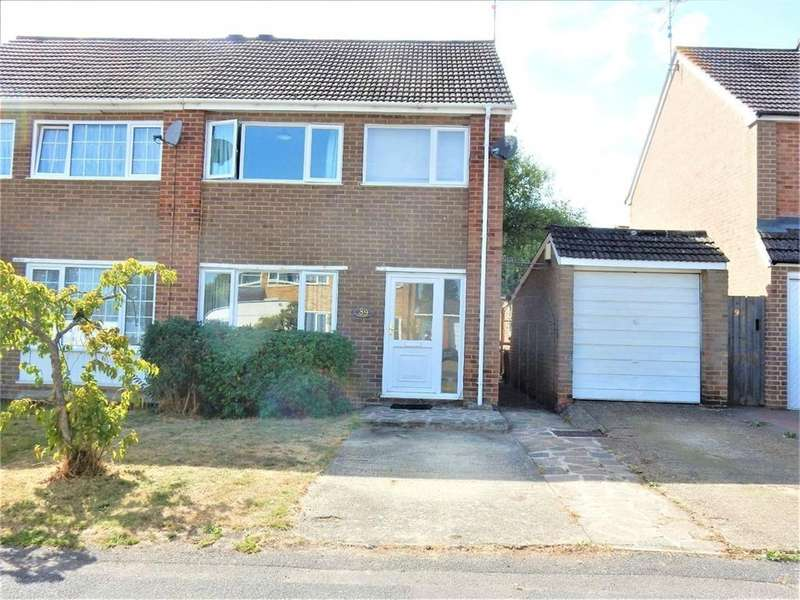 3 Bedrooms Semi Detached House for sale in Oak Avenue, Owlsmoor, SANDHURST, Berkshire