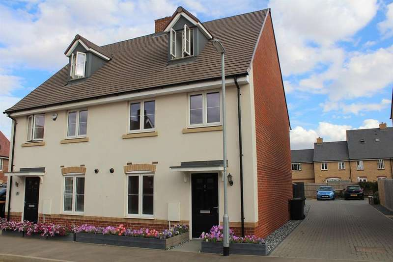 3 Bedrooms Semi Detached House for sale in Maskin Drive, Biggleswade, SG18
