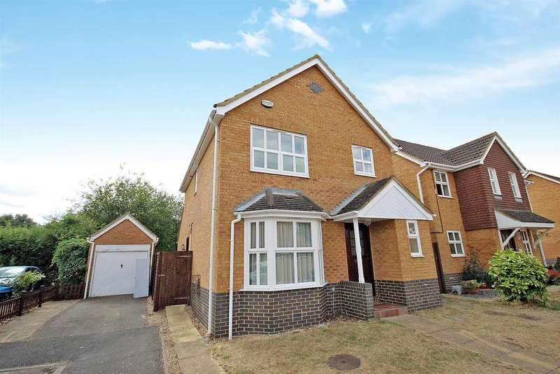 3 Bedrooms Detached House for sale in Tintern Abbey, Bedford