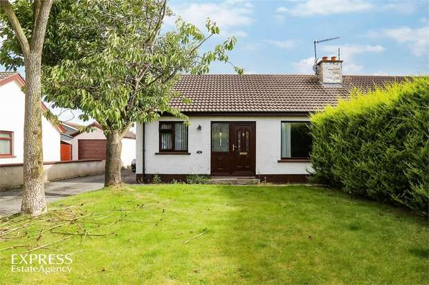 3 Bedrooms Semi Detached Bungalow for sale in Grahamville Estate, Kilkeel, Newry, County Down