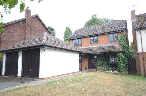 4 Bedrooms Detached House for sale in Whitebeam Close, Wokingham, Berkshire
