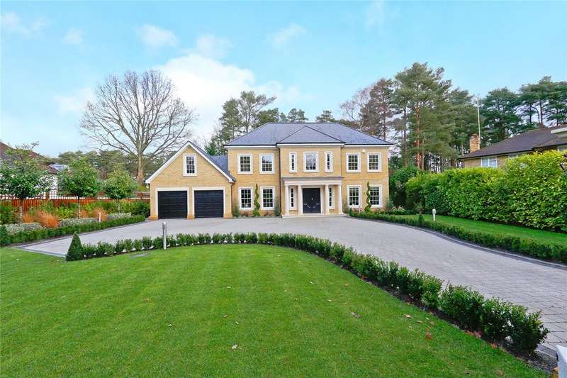 6 Bedrooms Detached House for sale in Fir Tree Close, Ascot, Berkshire, SL5