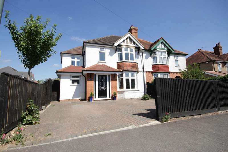 4 Bedrooms Semi Detached House for sale in St Marks Crescent, Maidenhead