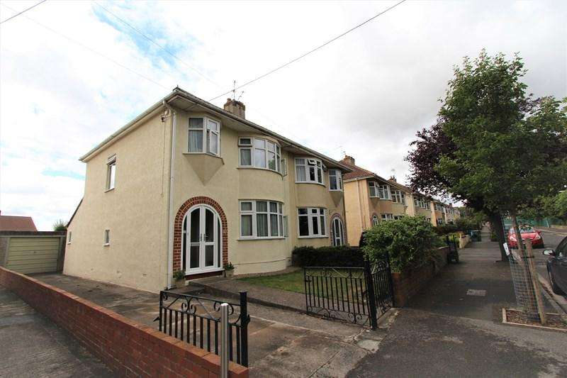 3 Bedrooms Semi Detached House for sale in St Francis Road, Keynsham, Bristol