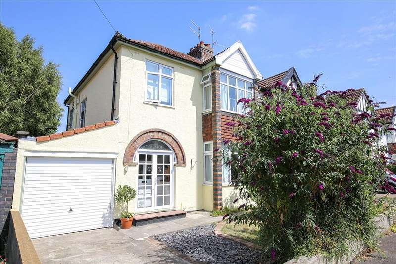 3 Bedrooms Semi Detached House for sale in Oakwood Avenue, Henleaze, Bristol, BS9