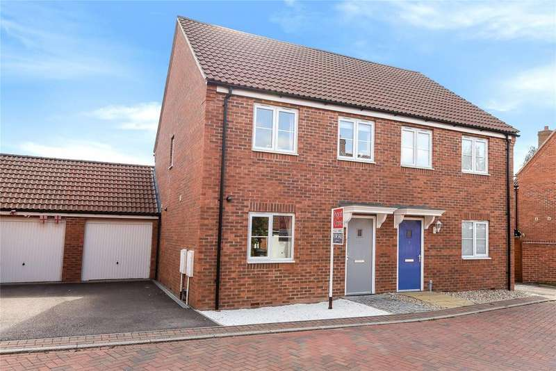 3 Bedrooms Semi Detached House for sale in Lavender Drive, Witham St Hughs, LN6
