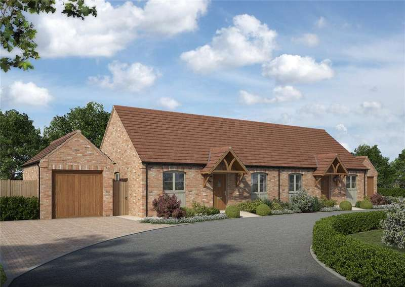 2 Bedrooms Semi Detached Bungalow for sale in Langdale, Thorpe Langton