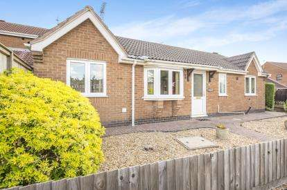 2 Bedrooms Bungalow for sale in Chitterman Way, Markfield, Leicestershire, Leicester