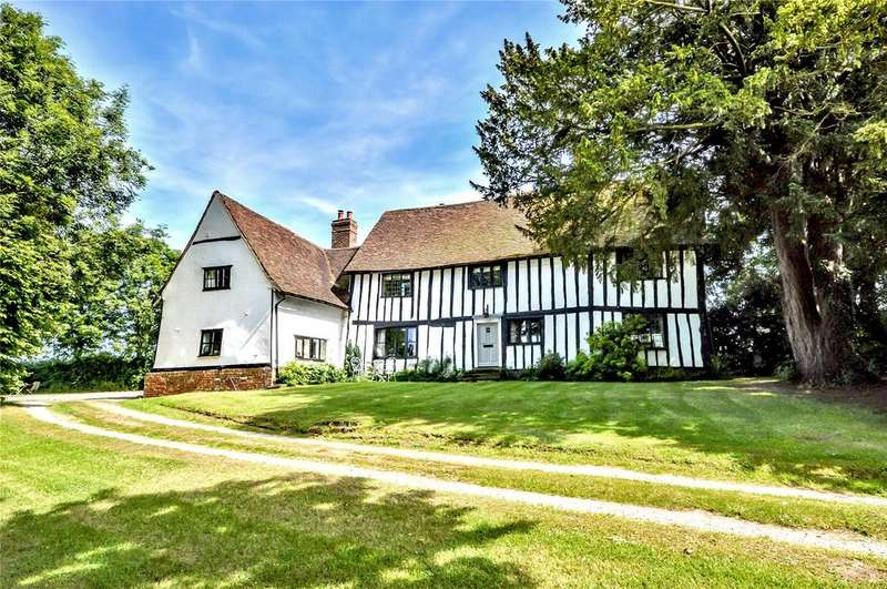 4 Bedrooms Detached House for sale in Broad Green, Steeple Bumpstead, Nr Haverhill, Suffolk, CB9