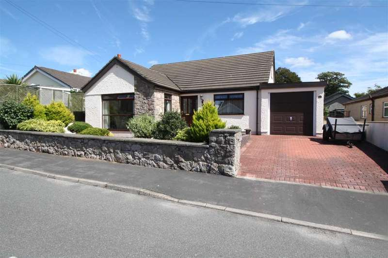 4 Bedrooms Detached Bungalow for sale in Y Garnedd, Llanfairpwll
