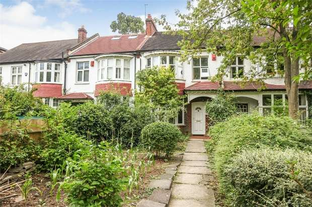 3 Bedrooms Terraced House for sale in Effra Road, London