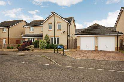 4 Bedrooms Detached House for sale in Russell Road, Bathgate
