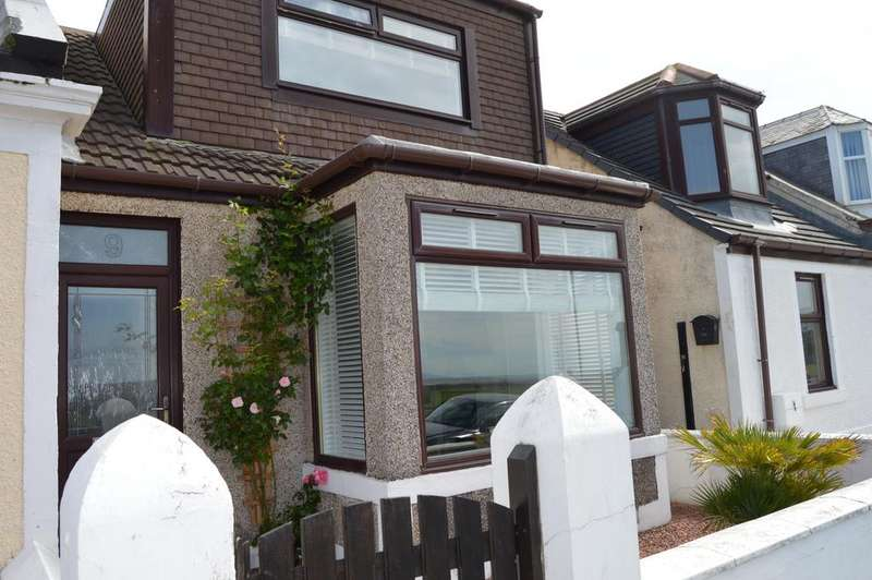 2 Bedrooms End Of Terrace House for sale in Melbourne Terrace, Saltcoats KA21
