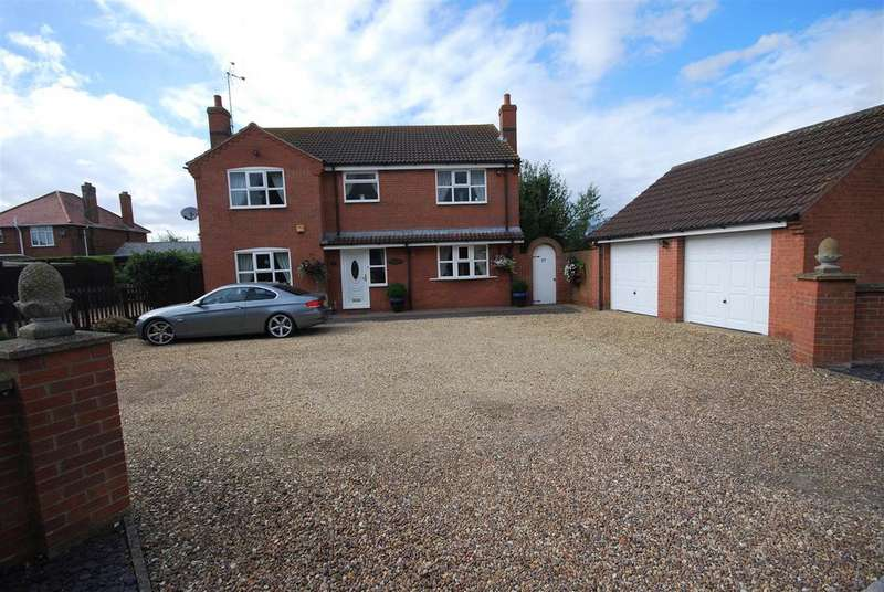 4 Bedrooms Detached House for sale in Broadgate, Weston, Spalding