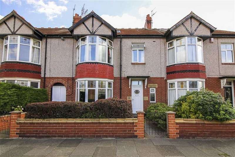 5 Bedrooms Terraced House for sale in Claremont Gardens, Whitley Bay, Tyne And Wear
