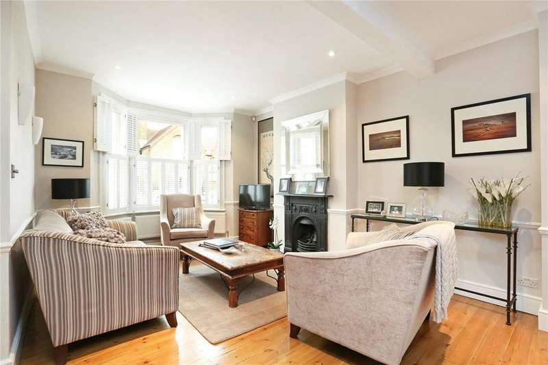 4 Bedrooms Terraced House for sale in Ackmar Road, Parsons Green, Fulham, London, SW6