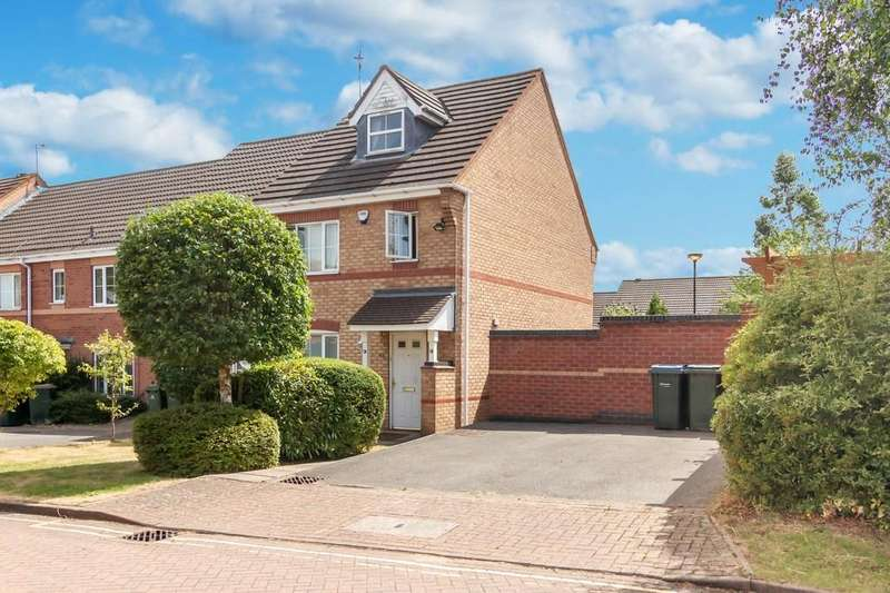 4 Bedrooms Town House for sale in Rodyard Way, Parkside, Coventry
