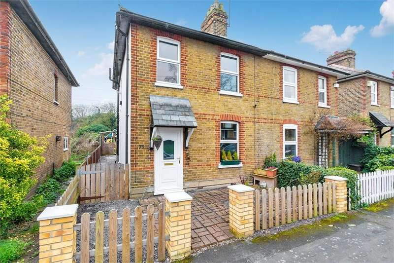 3 Bedrooms Semi Detached House for sale in Fairview Road, Taplow, Buckinghamshire