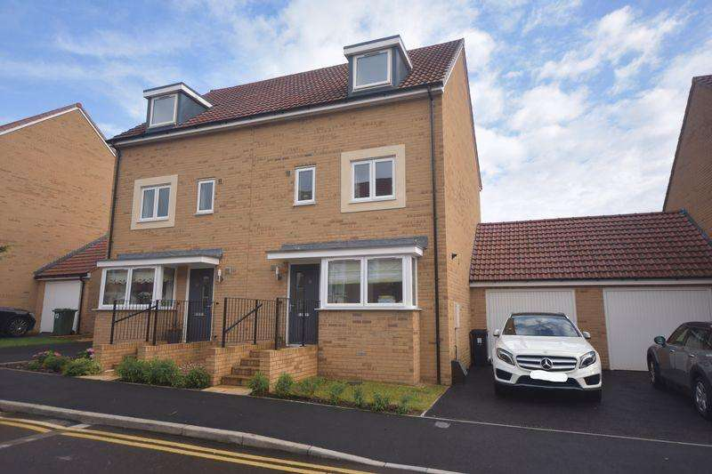 4 Bedrooms Semi Detached House for sale in Newlands Lane, Lyde Green