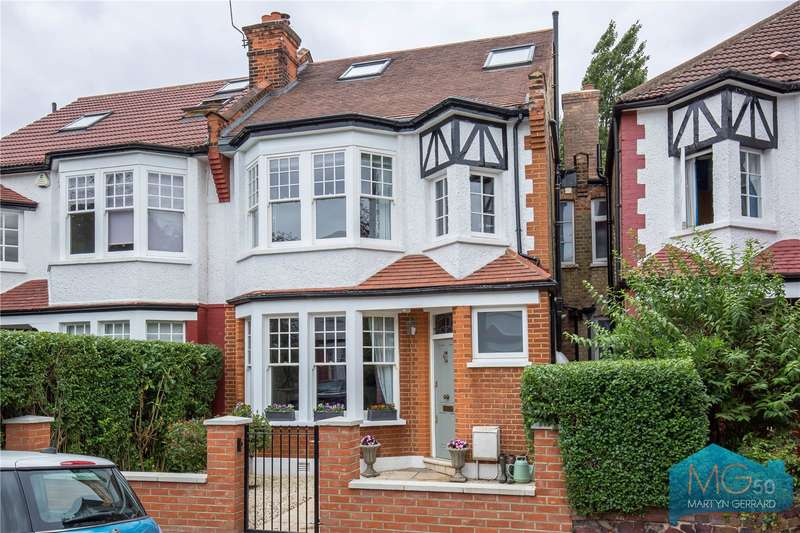 5 Bedrooms Link Detached House for sale in Limes Avenue, North Finchley, London, N12