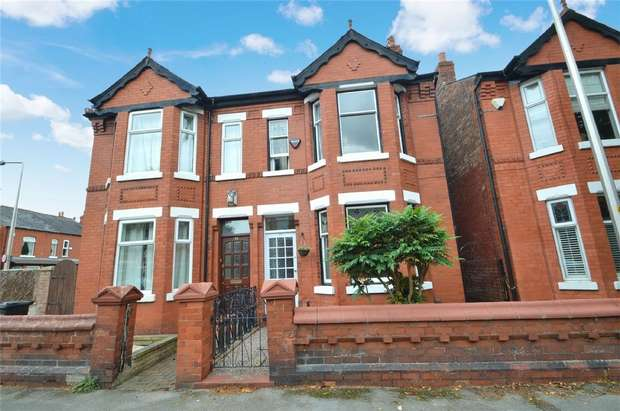 3 Bedrooms Semi Detached House for sale in Sherborne Road, Cheadle Heath, Stockport, Cheshire