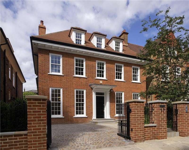 5 Bedrooms Detached House for sale in Wadham Gardens, Primrose Hill, London, NW3