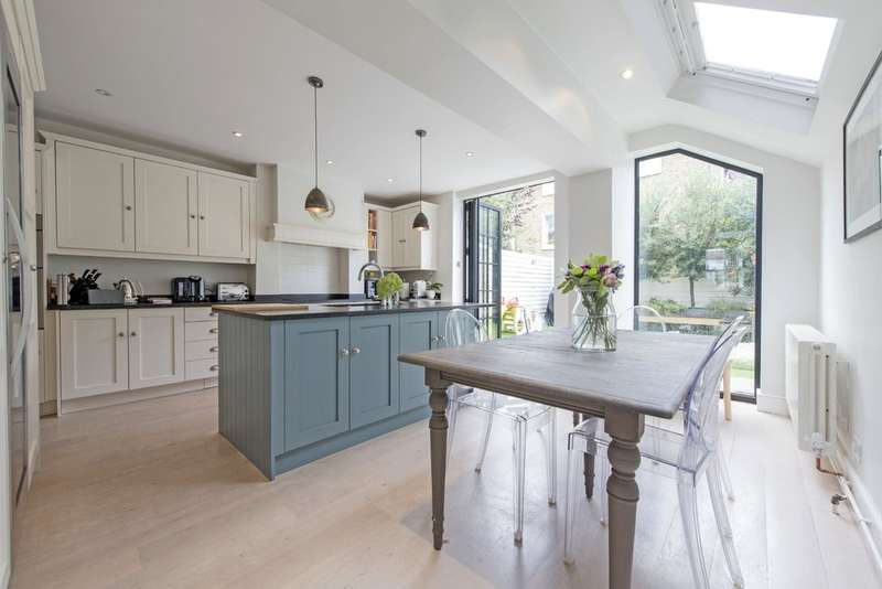 5 Bedrooms Terraced House for sale in Broxash Road, Battersea, London