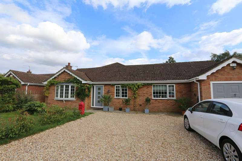 5 Bedrooms Detached Bungalow for sale in Witham Road, Woodhall Spa, Lincolnshire, LN10 6QX