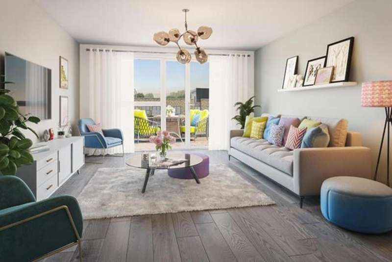 2 Bedrooms Apartment Flat for sale in Barratt Homes, Brand New, Chamberlain Court, Upton Gardens, Upton Park, Eastham, London, E13