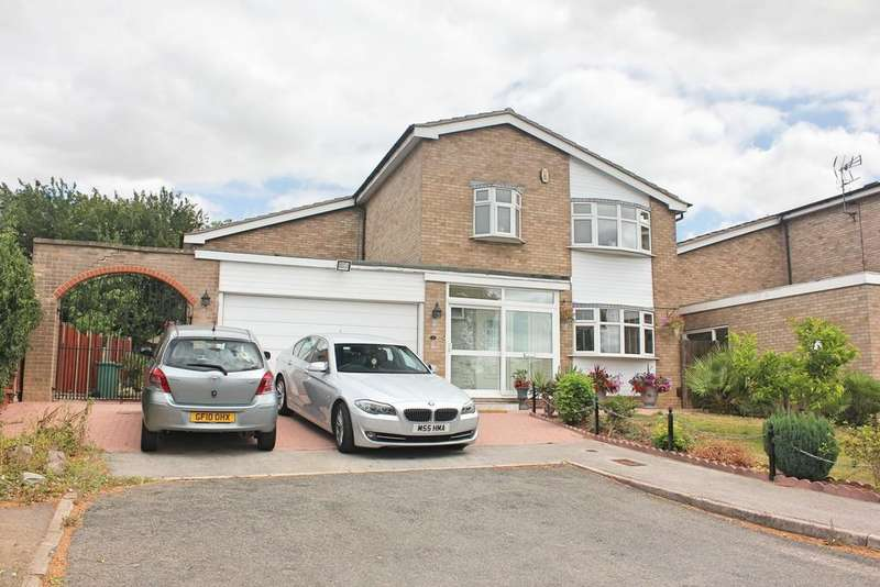 3 Bedrooms Detached House for sale in Shearsby Close, Wigston, Leicester